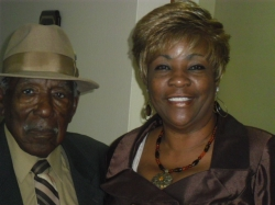 Olacee Harvey and niece, Dale Williams