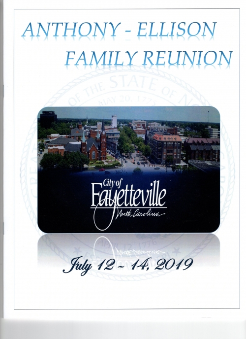 2019 Family Reunion Cover Page
